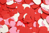 Heart Shapes Background — Foto Stock