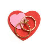 Simbolo dell'amore — Foto Stock
