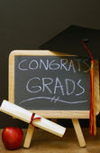 Congrats to All Grads — Stock Photo
