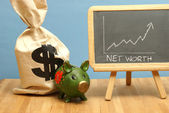 Net Worth Increase — Stock Photo
