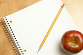 Blank Notebook — Stock Photo