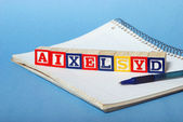 Dyslexia Difficulties — Stock Photo