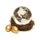 Global Wealth Concept — Stock Photo