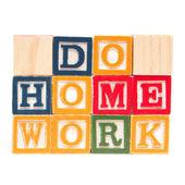 Do Home Work — Stock Photo