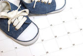Parenting Schedule — Stock Photo