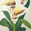Calla Lilies Painting — Stock Photo #24886183