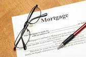 Hypotheekovereenkomst — Stockfoto