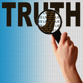 True Lies — Stock Photo