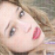 Young Beauty Mosaic — Stock Photo