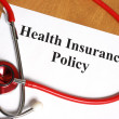 Health Insurance — Stock Photo