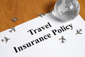 Travel Insurance — Stock Photo