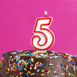 Celebrating Five Years — Stock Photo #33014877