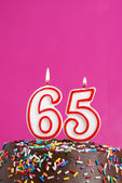 Celebrating Sixty Five Years — Stock Photo