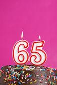Celebrating Sixty Five Years — Stock Photo