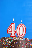 Celebrating Forty Years — Stock Photo