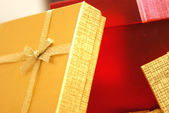 Christmas Gifts Closeups — Stock Photo