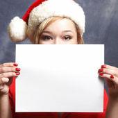 Christmas Advertisment — Foto Stock