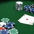 Poker Table — Stock Photo #39526833