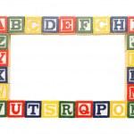 Alphabet Frame — Stock Photo #49662729
