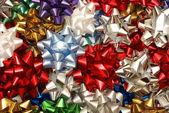 Various Christmas Bows — Stock Photo