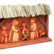Wooden Nativity Scene — Stock Photo