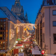 Christmas Market in Dresden — Stock Photo #18915359