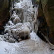 Stock Photo: Beautiful Frozen Waterfall