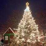 Christmas Market in Litomerice, Czech Republic — Stock Photo #6604331