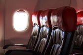 Aircraft Seats — Stock Photo