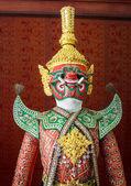 Iblis ramayana heykeli — Stok fotoğraf