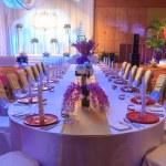 Свадебный банкет — Стоковое фото