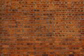 красная кирпичная стена — Стоковое фото