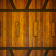 Stock Photo: Teak Wall