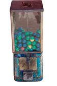 Alter kaugummiautomat — Stockfoto