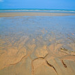 Stock Photo: Beach Sand Channels