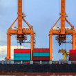 Cargo Container Ship — Stock Photo