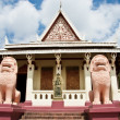 Watt Phnom Temple Cambodia — Stock Photo
