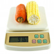 Vegetables Weighing Scales — Stock Photo #31286325