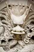 Dragon Statue Head — Stock Photo