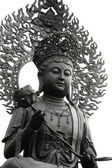 Statue of Kuan Im, master god in traditional Chinese culture — Stock Photo