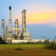 Stock Photo: Petroleum Refinery