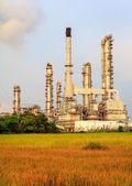 Petroleum raffinaderij — Stockfoto