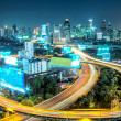 Stock Photo: Bangkok High Angle View