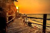 Wood Bridge Sunset — Photo