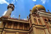 Mezquita del sultán — Foto de Stock