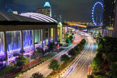 Město singapur — Stock fotografie