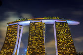 The Marina Bay Sands — Stock Photo