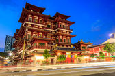 Temple in Singapore Chinatown — Stock Photo