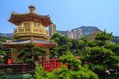 Chi Lin Nunnery Temple — Stock Photo