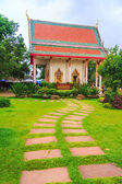 Walkway To Temple — Stockfoto